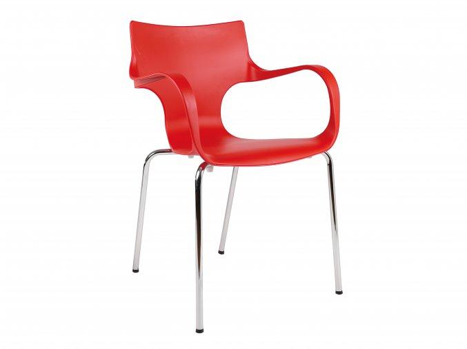 Plastová stohovatelná židle do kaváren | Ressed