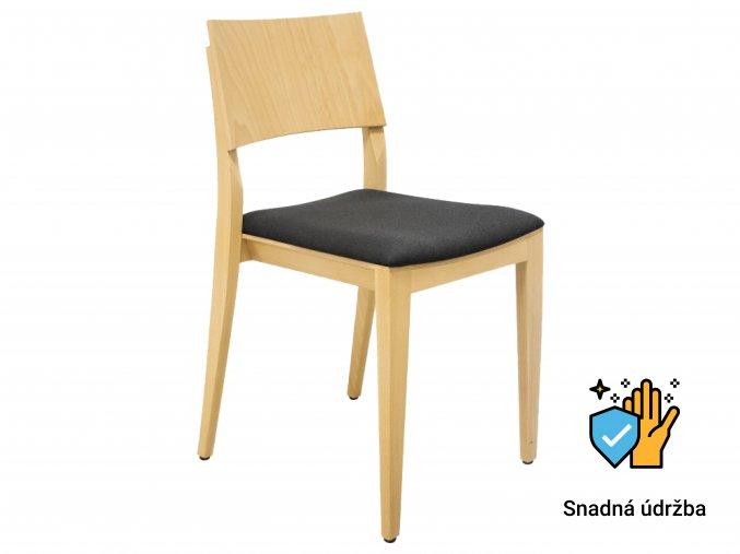 Stohovatelná restaurační židle do zátěžových prostorů | Ressed