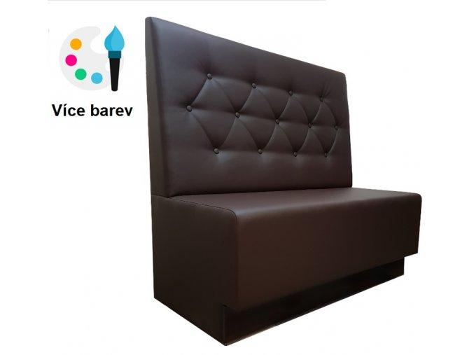 Stylová prošívaná lavice s knoflíky | Ressed