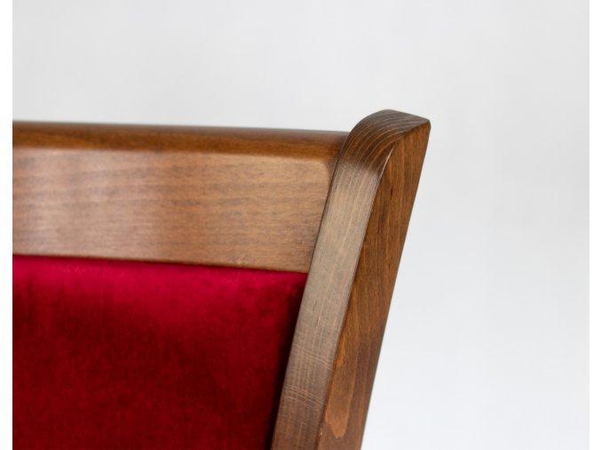 stohovatelná čalouněná židle | Ressed