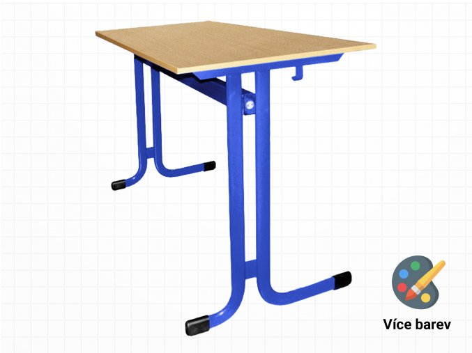 Školní lavice do učeben pro dva   Ressed