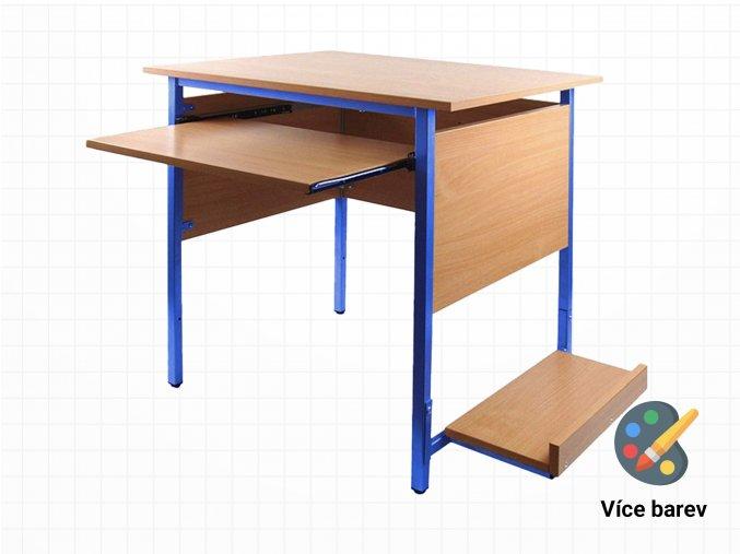 Školní počítačový stůl do učeben | Ressed