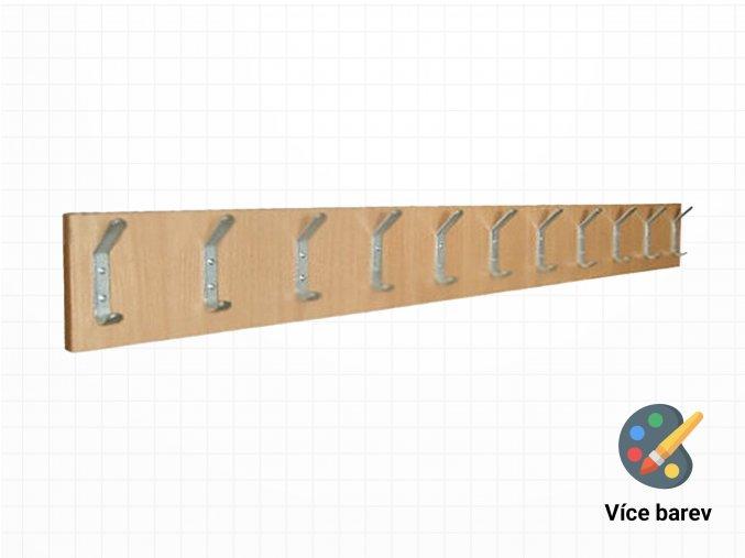 Školní dřevěný věšák na stěnu | Ressed