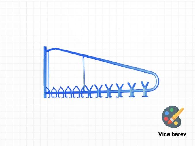 Rotační ocelový věšák do šaten na bundy | Ressed