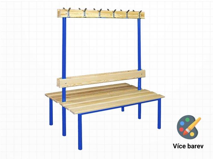 Oboustranná lavice do školních šaten | Ressed
