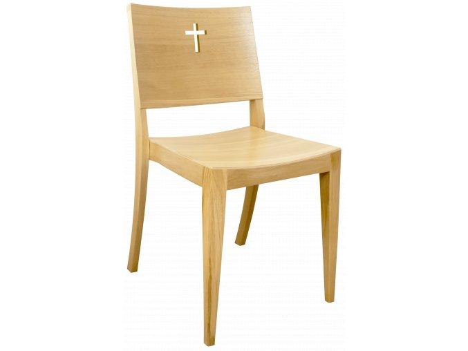 Odolná dubová židle pro římskokatolickou církev | Ressed