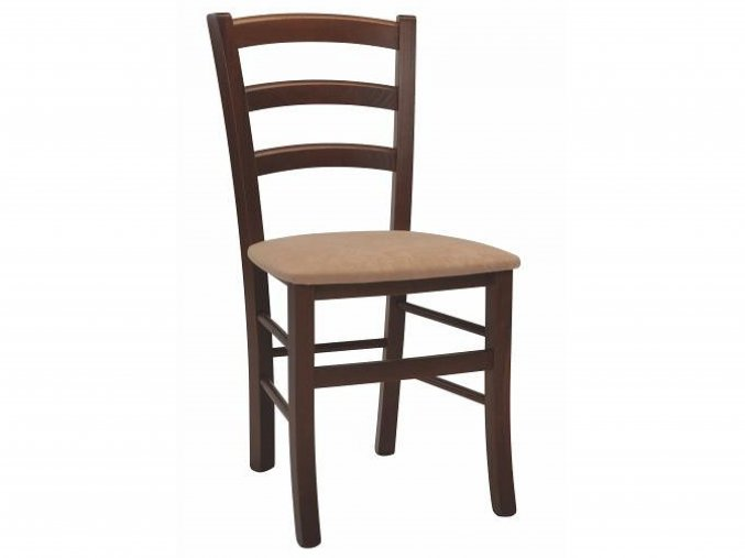 Masivní buková židle s čalouněním | Ressed