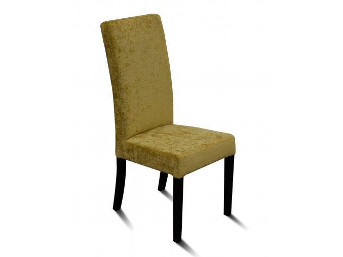 Designová židle Comforta se zeštíhleným sedákem,jídelní, olivová