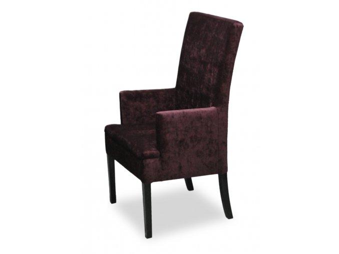 Luxusní křeslo Throne se zesíleným sedákem, vysoké kavárenské