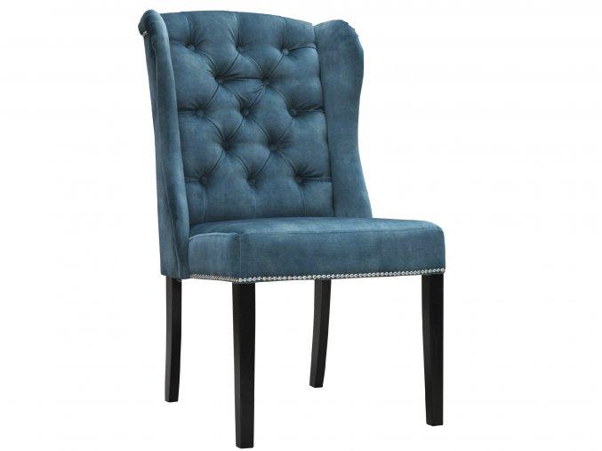 Luxusní prošitá židle Ears II, úchyt jako klepadlo