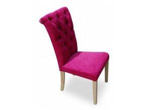 Luxusní prošitá židle Style II, styl Chesterfield