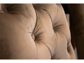 Luxusní prošitá židle Style II s klepadlem