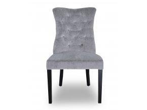 Luxusní prošitá židle Asher s klepadlem