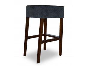 Pohodlná barová židle se zesíleným sedákem