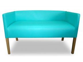 Moderní lavice se zesíleným sedákem, nízká