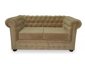 Luxusní pohovka Sir England, Chesterfield, klubová