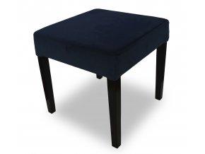 Moderní taburet se zeštíhleným sedákem
