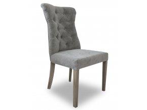 Luxusní prošitá židle Asher, prošití Chesterfield