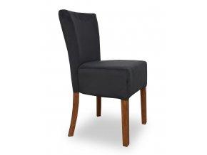 Designová židle Cannes plná, černá, kavárenská