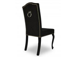 Luxusní židle Král Slunce s připínáčky a klepadlem