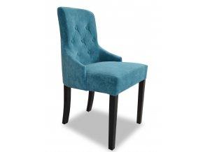 Luxusní prošitá židle Queen s knoflíky