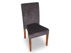 Moderní stohovatelná židle Comforta, šedivá