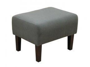 Designový taburet Fred-OK, šedý