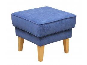Designový taburet Clerido-OK, modré