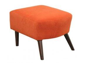 Designový taburet Colin-OK, oranžový