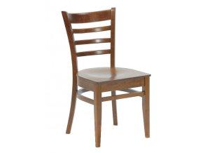 Dřevěná židle - stohovatelná | Ressed