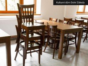 Dřevěná židle do restaurace | Ressed