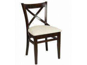 Židle s křížem na opěradle   Ressed