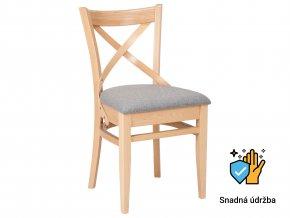 Židle s křížem na opěradle | Ressed