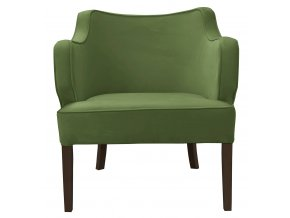 Designové křeslo Ginati,zelené