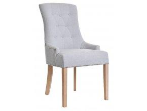 Luxusní prošitá židle Tina s připínáčky a klepadlem