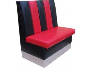 Restaurační lavice - možnost rychlé výměny sedáku i opěradel | Ressed