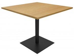 Stůl vhodný do kaváren s ocelovou podnoží | Ressed