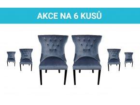 Akce na 6 kusů židlí   Ressed