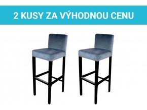 Čalouněná barová židle King v akci | Ressed