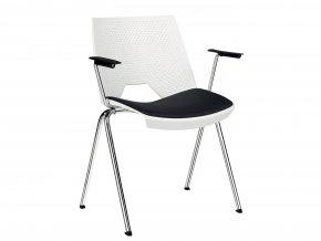 Konferenční židle s čalouněným sedákem | Ressed