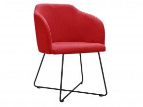 Elegantní židle s čalouněným sedákem a opěrákem | Ressed