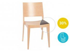 Stohovatelná židle do hotelů a restaurací z kvalitní konstrukce | Ressed