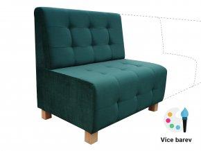 Smaragdová lavice na míru | Ressed