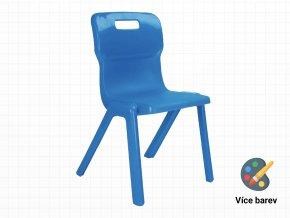 Plastová židle pro prvňáčky | Ressed
