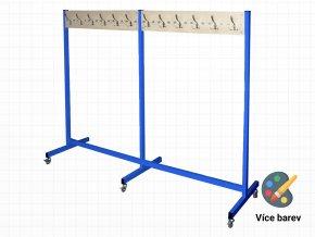 2 metrový věšák do školních šaten | Ressed