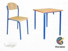 Školní set pro 1 žáka do tříd | Ressed