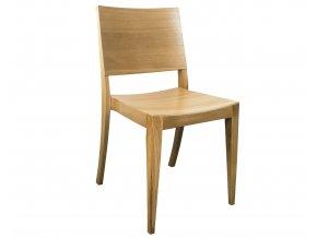 Masivní dubová židle do kulturních sálů | Ressed