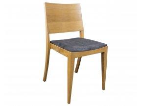 Designová čalouněná židle z masivního dubu | Ressed