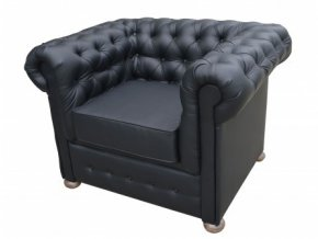 Luxusní křeslo Sir England - Chesterfield, anglický nábytek