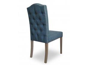 Luxusní židle Antoineta s připínáčky, anglický styl Chesterfield